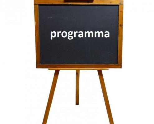 schoolbord programma